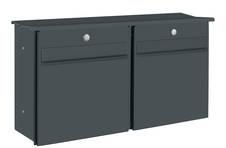 Likno Duo XAS9003N mit eckigem Dach Außenmaße:  773 x 345 x 195 (BHT)